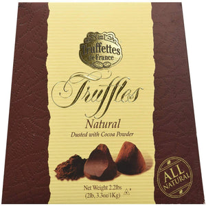 Delicious Chocolate Truffles Original Dusted With Cocoa Powder (1Kg). - shopperskartuae
