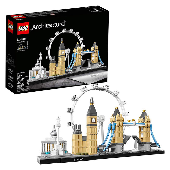 LEGO Architecture London Skyline Collection Gift 21034. - shopperskartuae