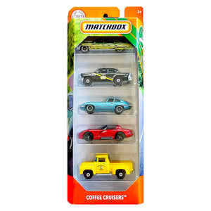 Matchbox MBX Road Trip Coffee Cruisers (5 Pieces). - shopperskartuae