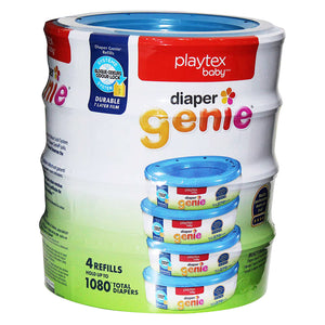 Playtex Baby Diaper Genie Original Refills (Pack of 4). - shopperskartuae
