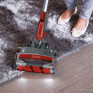 Shark DuoClean Cordless Stick Vacuum True Pet Floor Cleaner IF250UKCO Red Grey - shopperskartuae