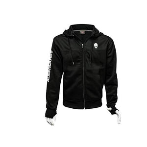 Alienware Zip Up Hoodie For Men - shopperskartuae