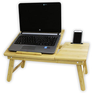 BirdRock Home Multi-Tasking Bamboo Laptop Table. - shopperskartuae