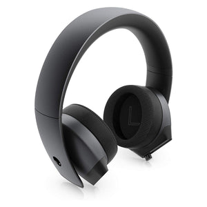 Alienware 7.1 PC Gaming Headset AW510H-Dark: 50mm Hi-Res Drivers - Noise Cancelling Mic - Multi Platform Compatible(PS4,Xbox One,Switch) via 3.5mm Jack - shopperskartuae