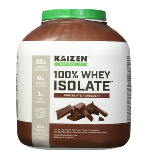 Kaizen Naturals Whey Protein Isolate, Chocolate, 2 kg
