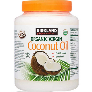 Kirkland Signature Organic Virgin Coconut Oil (2.28Kg). - shopperskartuae