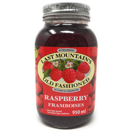 Last mountain old fashioned Raspberry spread, 950ml