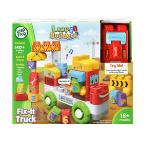 Leap Frog Tumbling Blocks Fire Engine 1 1/2 - 4 years