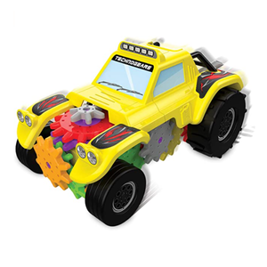The Learning Journey - Techno Gears - Off Road Racer - 60+ Pieces - Kid Toys & Gifts for Boys & Girls Ages 6 Years and Up - Award Winning Toy - STEM