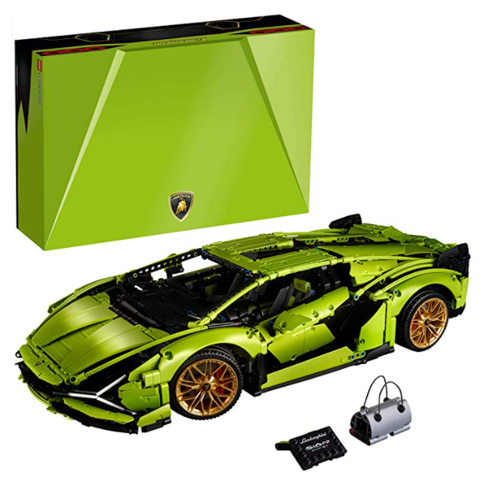 LEGO Technic Lamborghini Sián FKP 37 (42115), Building Project for Adults, Build and Display This Distinctive Model,New 2020 (3,696 Pieces)