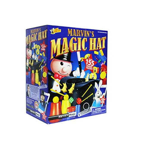 Marvin's Magic Hat Includes 155 Magic Tricks