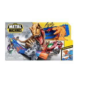 Zuru Metal Machines 4-Lane Raptor Attack Track Set with 8 Cars