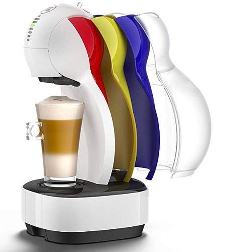 Nescafe Dolce Gusto Coffee Machine, 3 Changeable colors - shopperskartuae