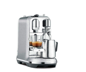 Nespresso Creatista Plus J520 Silver Coffee Machine, J520-ME-ME-NE, Silver, 1 Year Brand Warranty.
