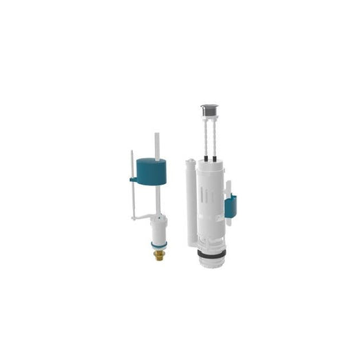 Nova Start Stop Double Push Cistern Mechanism Flush Valve - shopperskartuae