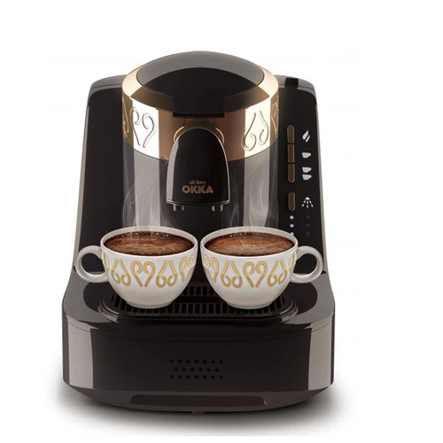 Arzum Okka Automatic Turkish Coffee Machine Black 950 ML - OK001B - shopperskartuae