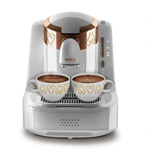 Arzum Okka Automatic Turkish Coffee Machine 950 ML - OK001B White - shopperskartuae