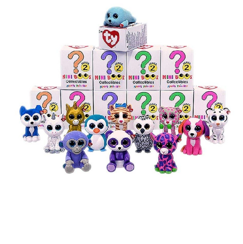 TY Mini Boo Figures SERIES 2 - COMPLETE SET OF 12 - BLIND BOX (1 random character)(2 inch) - shopperskartuae