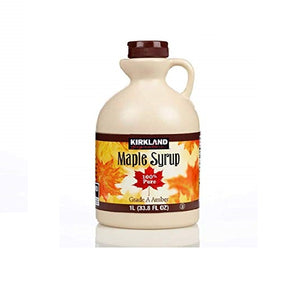 Signature 100% Maple Syrup Dark Amber, 33. 8 Fl OZ - shopperskartuae