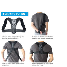 Load image into Gallery viewer, Beauty Bliss ™ Posture Corrector (Adjustable to Multiple Body Sizes)
