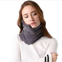 Load image into Gallery viewer, Beauty Bliss™  Scarf Travel Pillow - BeautyBliss, travel scarf, comfy travel pillow, unique travel pillow, beauty bliss