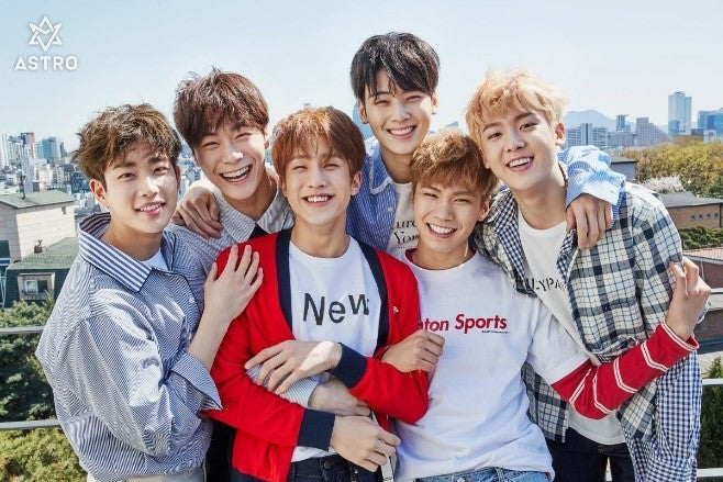 "ASTRO's world tour ""Star Light"" has come to an end"