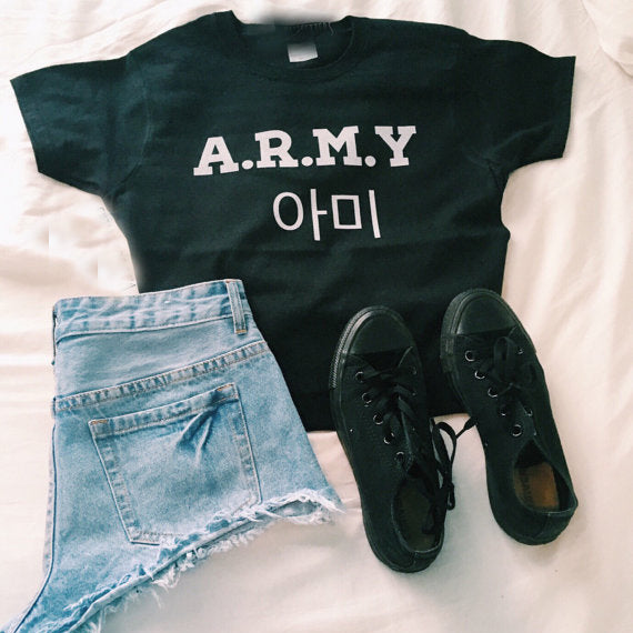 A.R.M.Y Fashion T-Shirt For Women 2019
