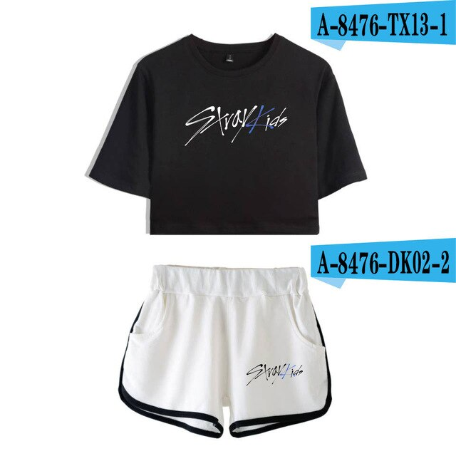 Stray Kids Hot Two-Piece Fashion Summer 2019
