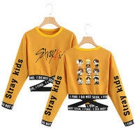 Stray Kids Sweatshirt Long Sleeve Korean Style