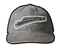 AK-47 Fire Selector Switch Twill Hat (Grey)