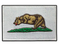 "California No Right To Bear Arms Morale Patch (2x3"")"