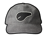 German Fire Selector Switch Twill Hat (Grey)
