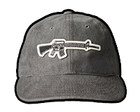 M16 Rifle Twill Hat (Grey)