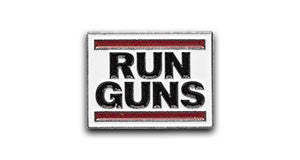 Run Guns Pin