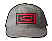 Bullet Pictogram Twill Hat (Grey)