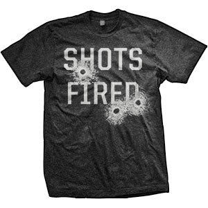 Shots Fired T-Shirt (TriBlack)