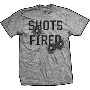 Shots Fired T-Shirt (TriGrey)