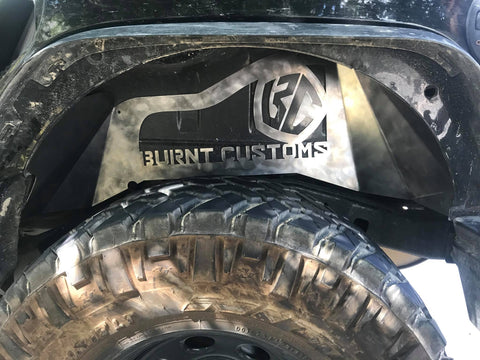 Custom Rear Inner Fender Liner Set (JK/JKU)