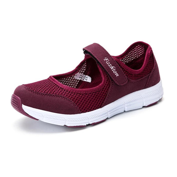 Wine Red Woven with Velcro Fastener (3945264709719)