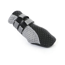 Load image into Gallery viewer, Black Small Slip On: 4 Waterproof Dog Shoes (4435620528215)