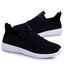 Load image into Gallery viewer, Black Fit Me Trainers (3443080101988)