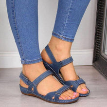 Load image into Gallery viewer, Blue Open Sandals (4690917720151)