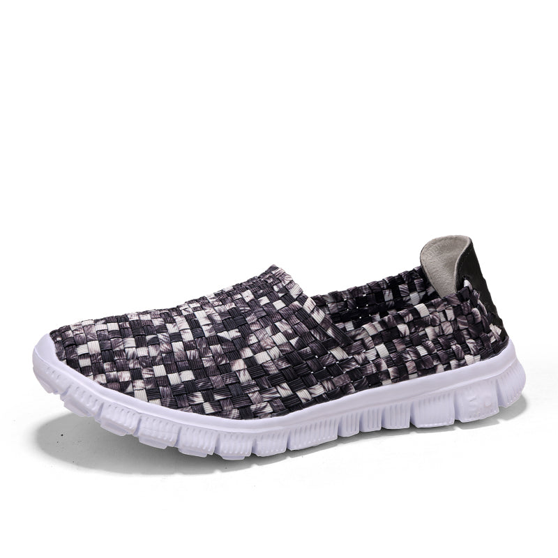 Spotted Woven Full Top Slip On (3533434847332)