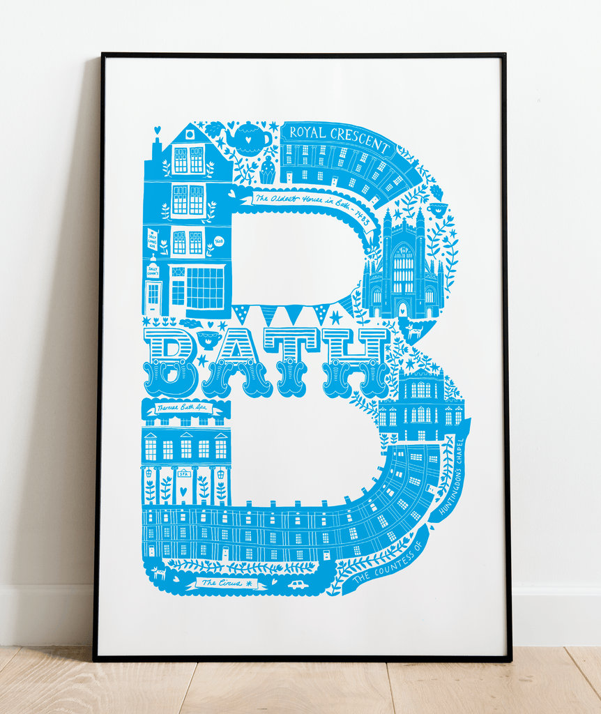 Bath Screen Print (Discontinued)