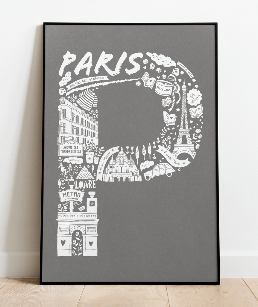 Paris Screen Print (Discontinued)