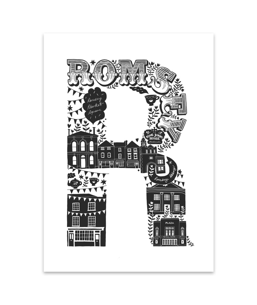 Romsey Screen Print (Discontinued)