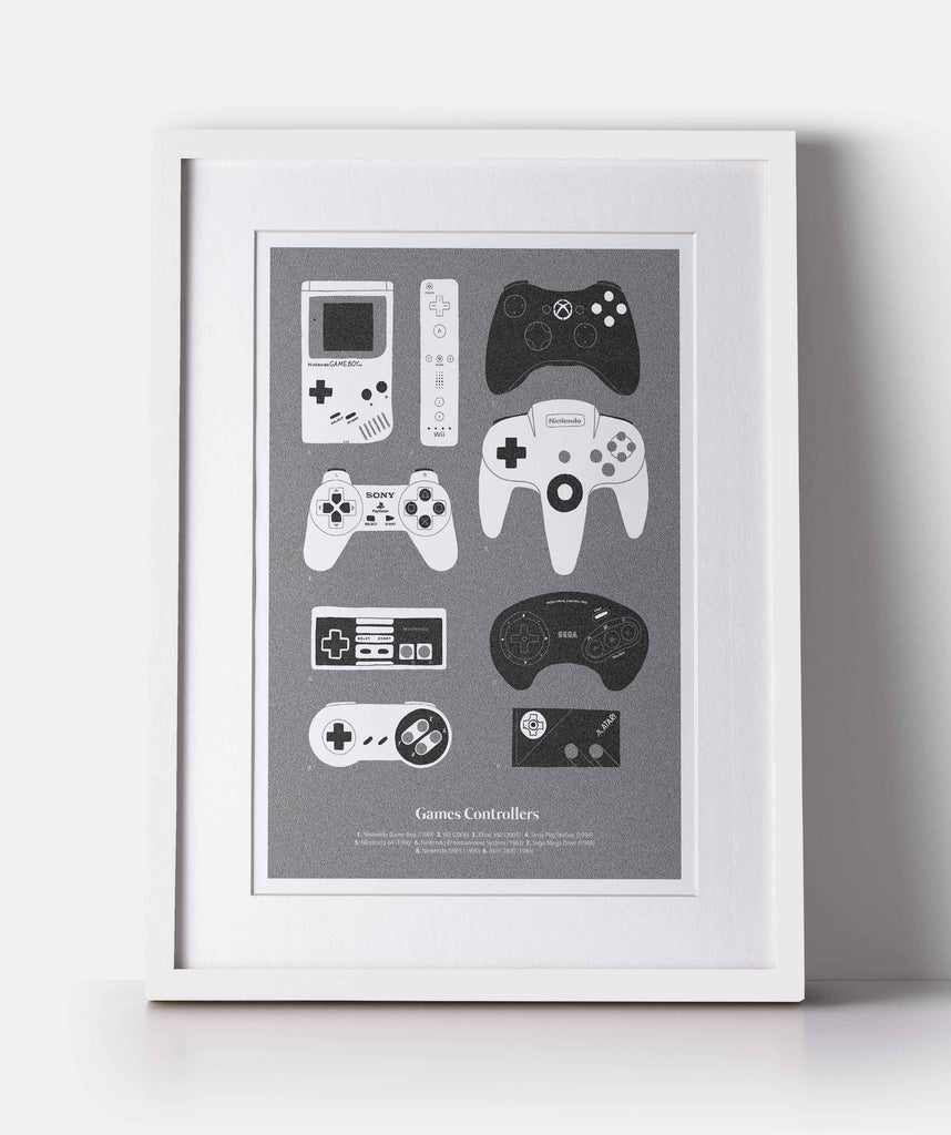 Games Controllers - The Collective Press