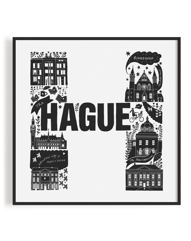 The Hauge Screen Print (Discontinued)