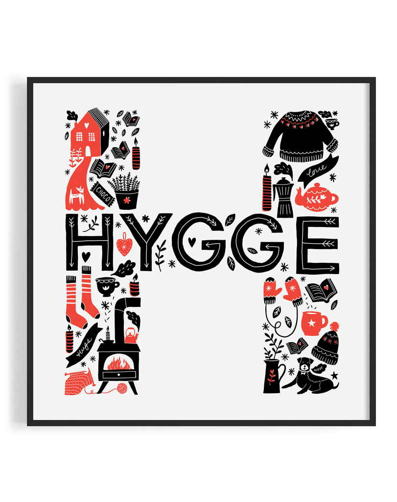 Hugge Screen Print