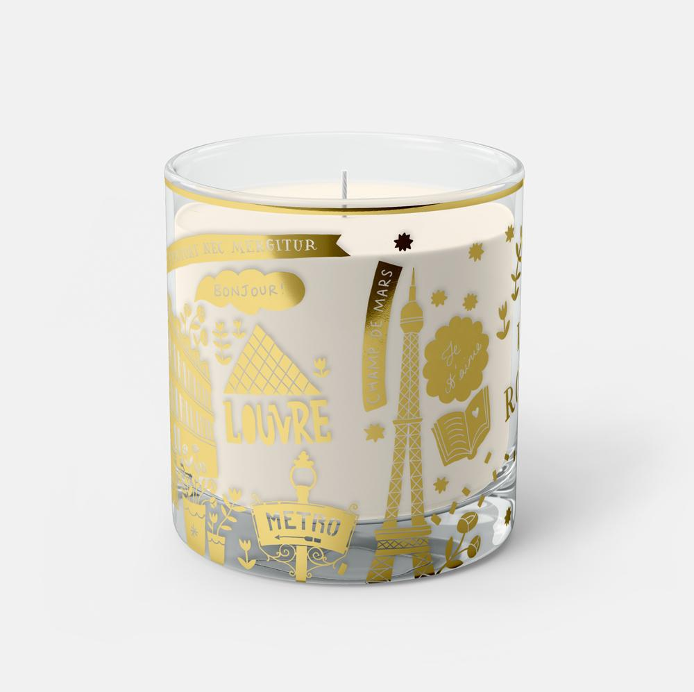 Paris Candle - The Collective Press